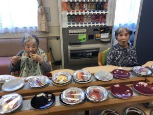 回転寿司イベントの様子